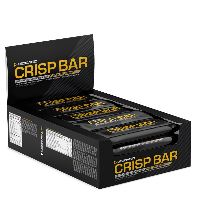 Dedicated Crisp Bar 55g