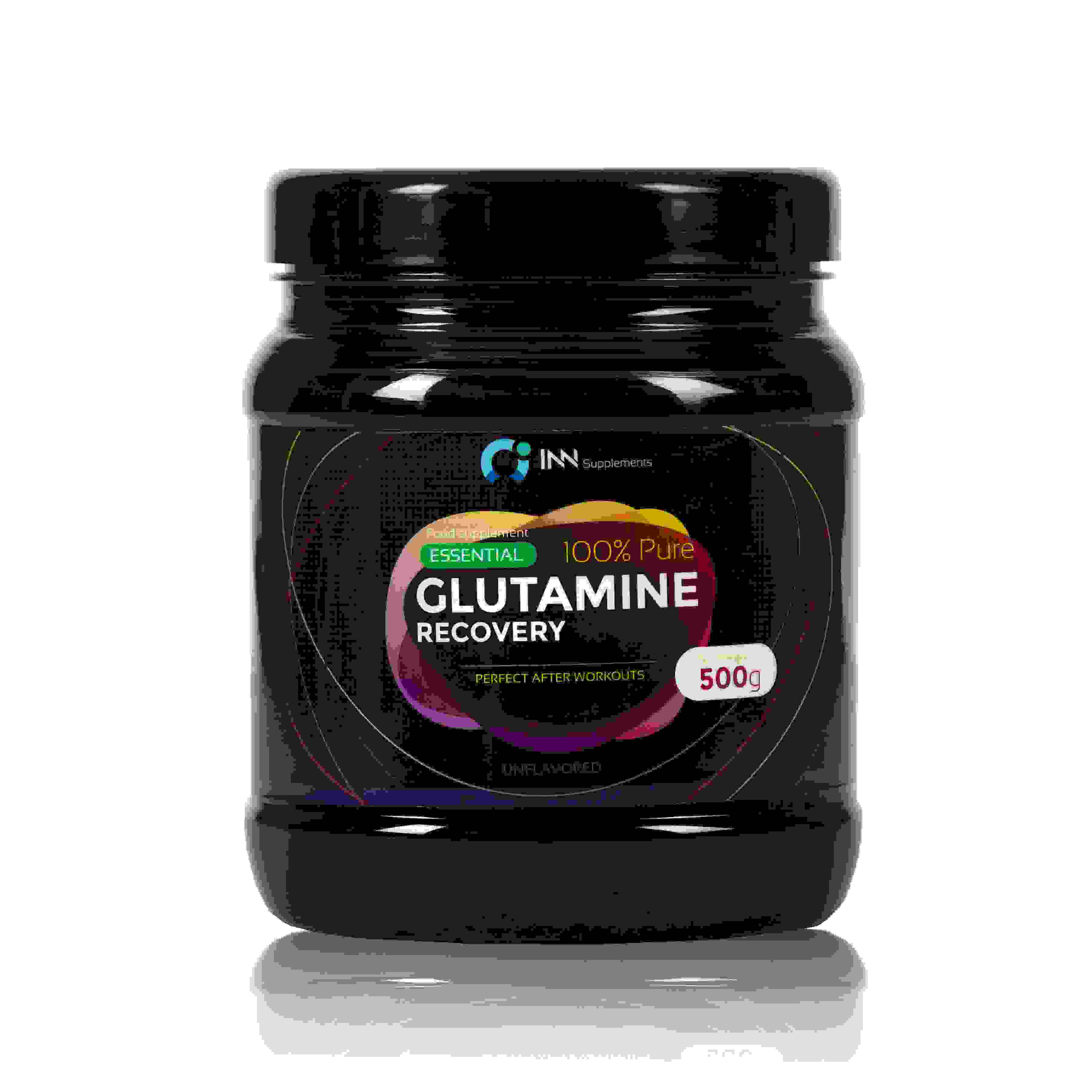 INN 100% Pure glutamine Recovery 500g