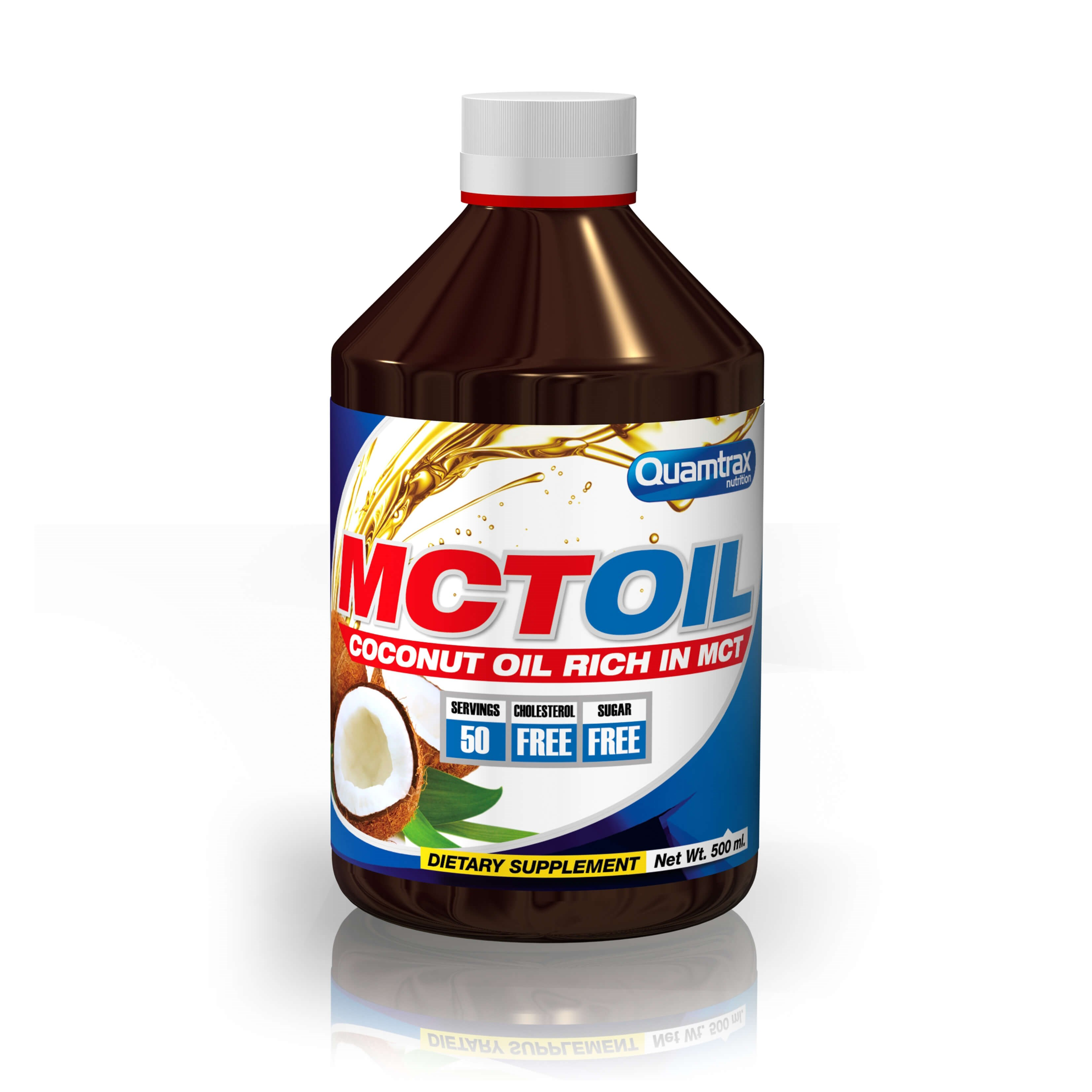 Quamtrax MCT oil 500ml