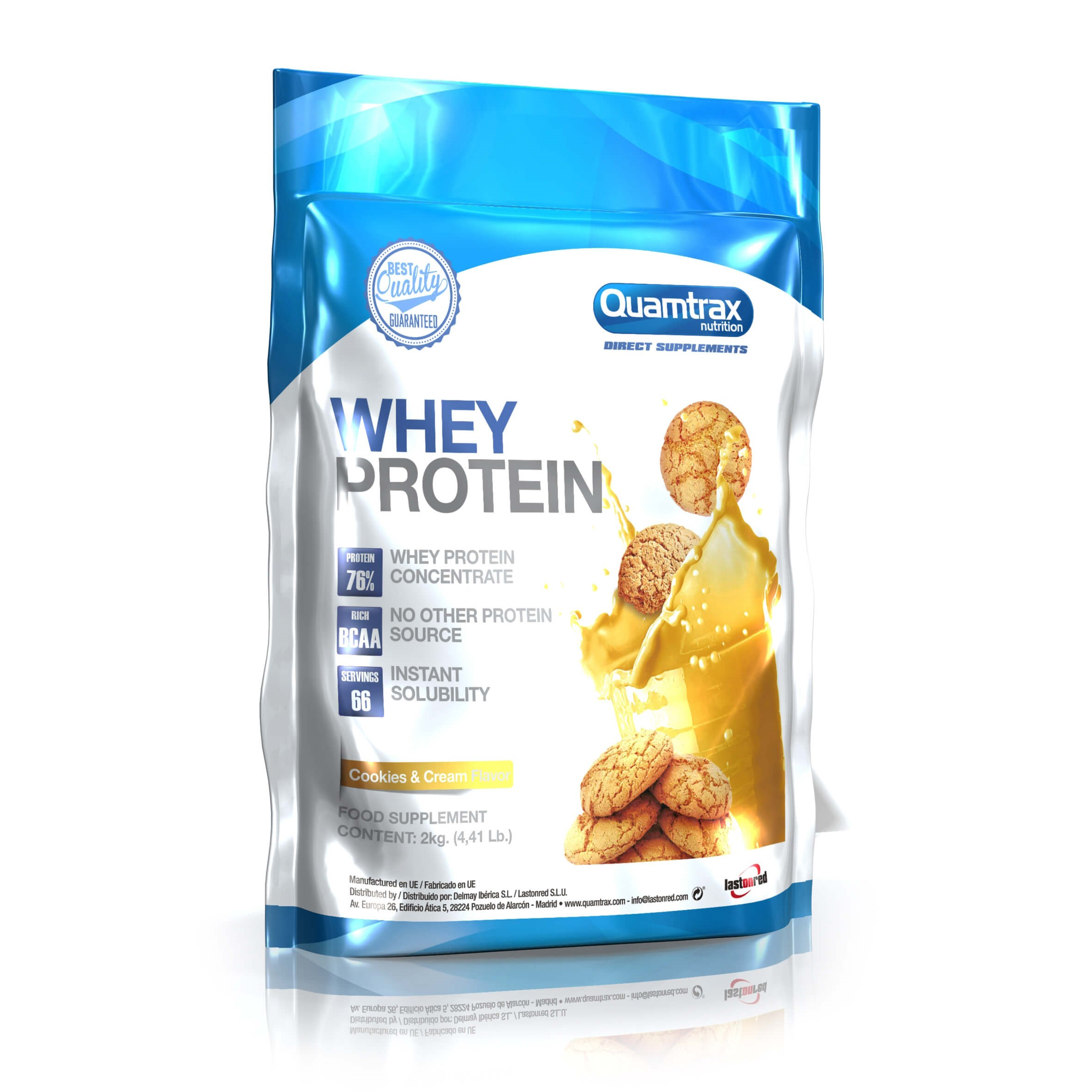 Quamtrax Direct Whey Protein 2000g
