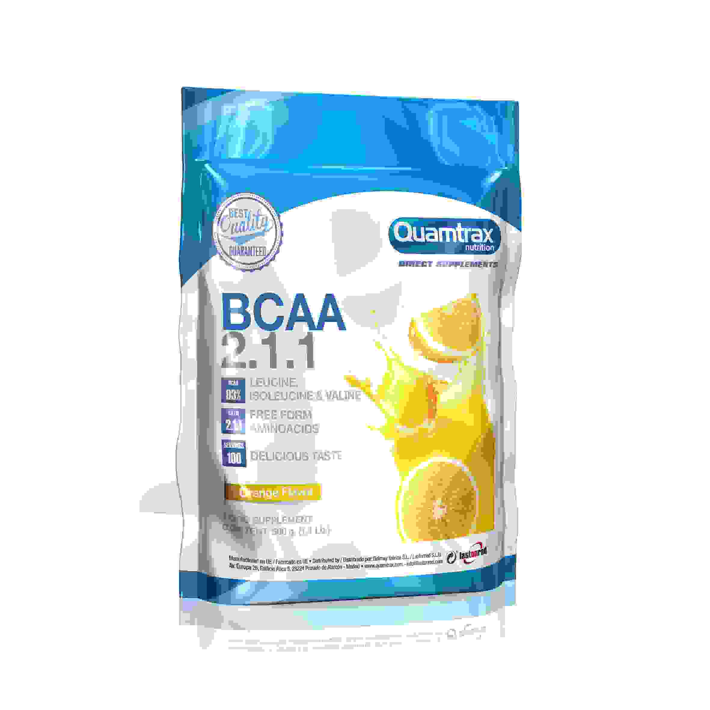 Quamtrax Direct BCAA 2:1:1 500g