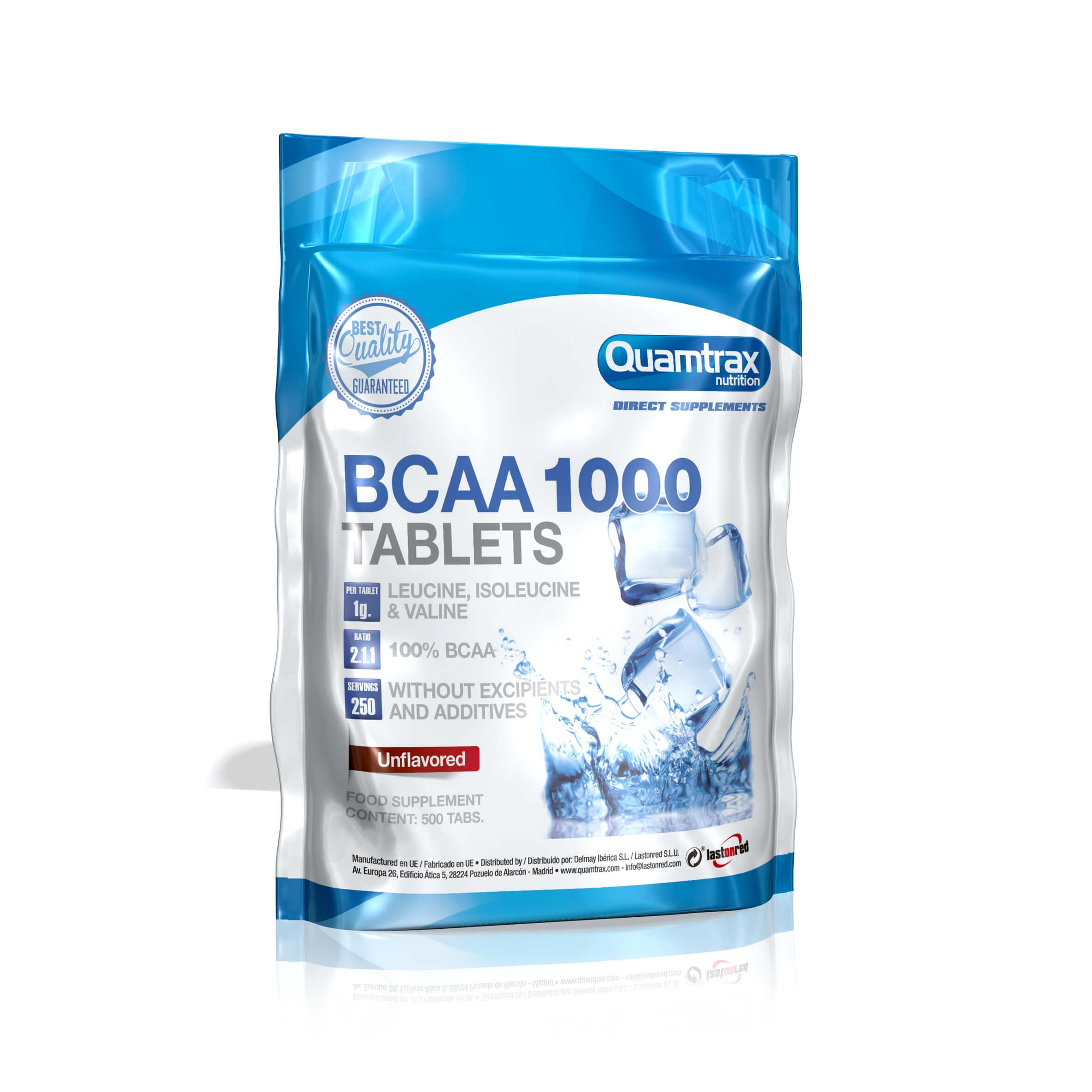 Quamtrax Direct BCAA 1000 500 tablets