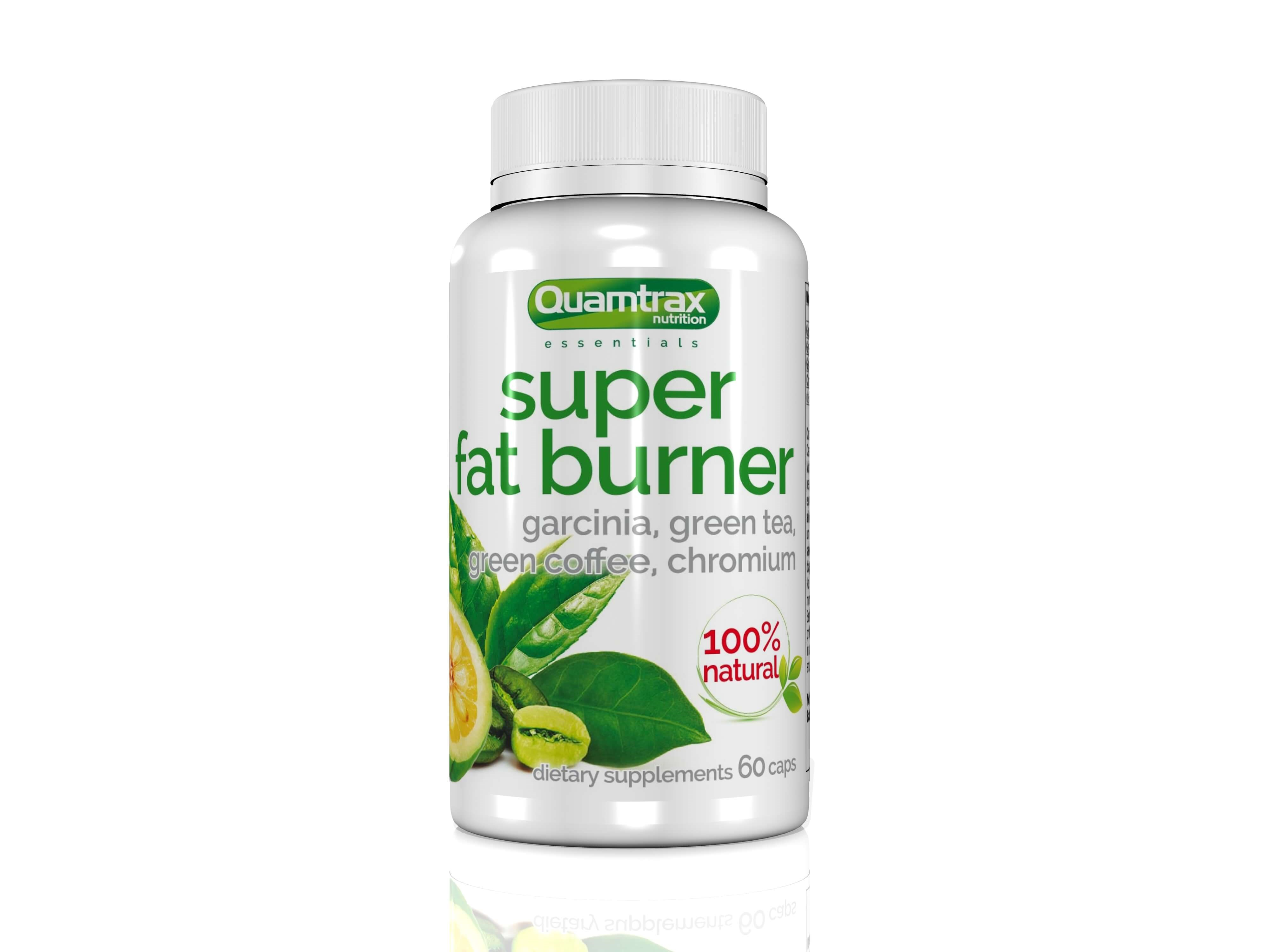 Quamtrax Essentials Super Fat burner 60 capsules