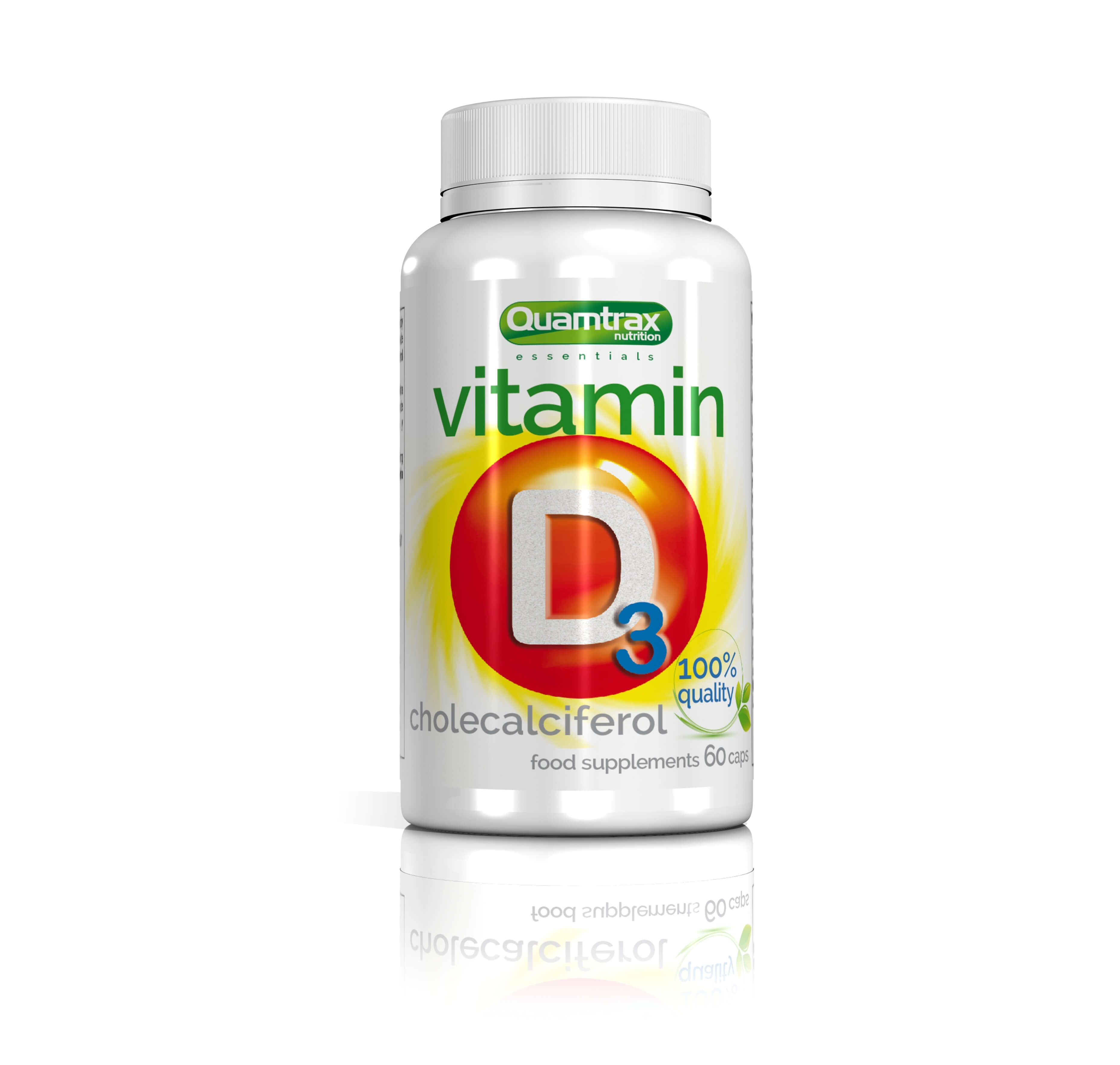 Quamtrax Essentials Vitamin D3 60 capsules