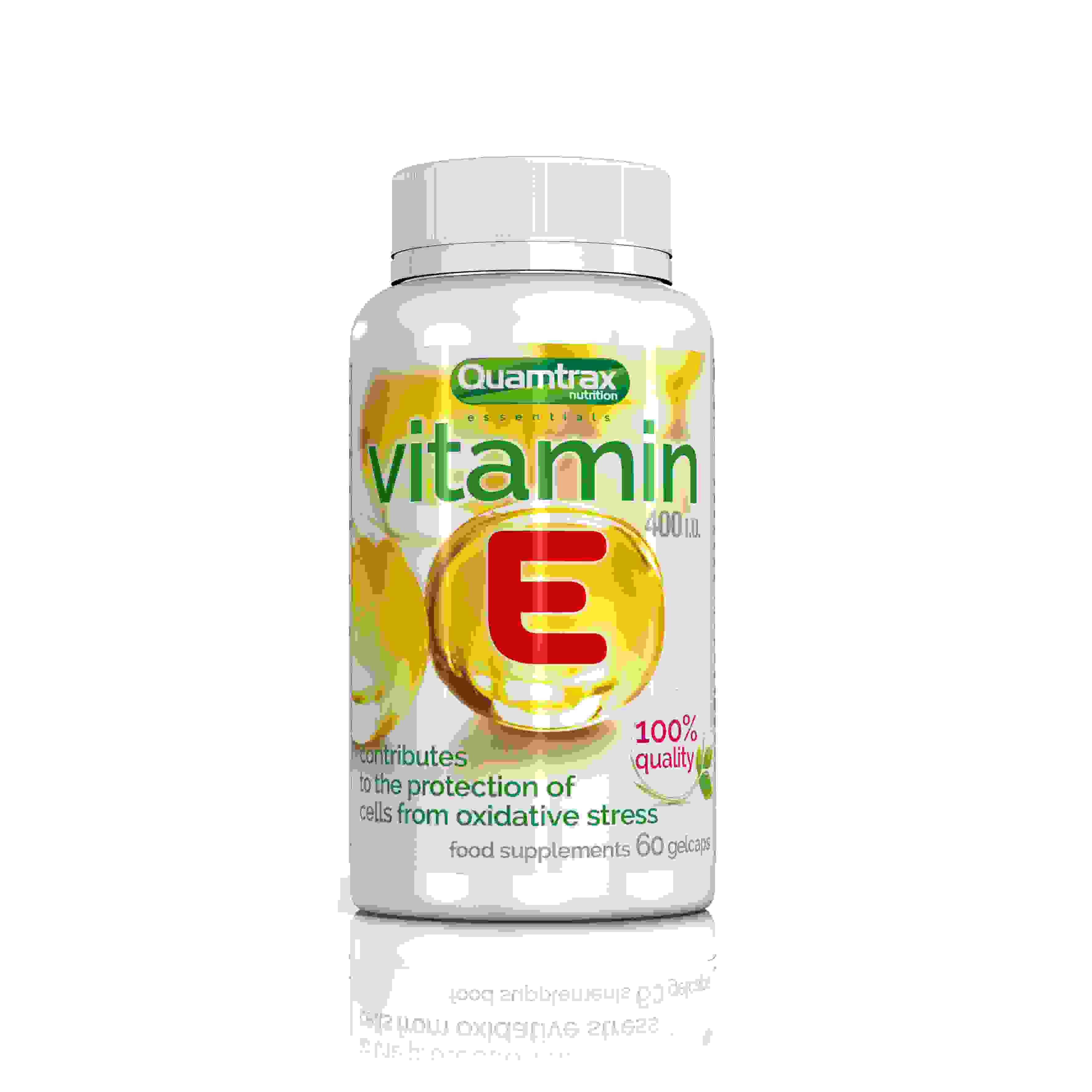 Quamtrax Essentials Vitamin E 60 capsules