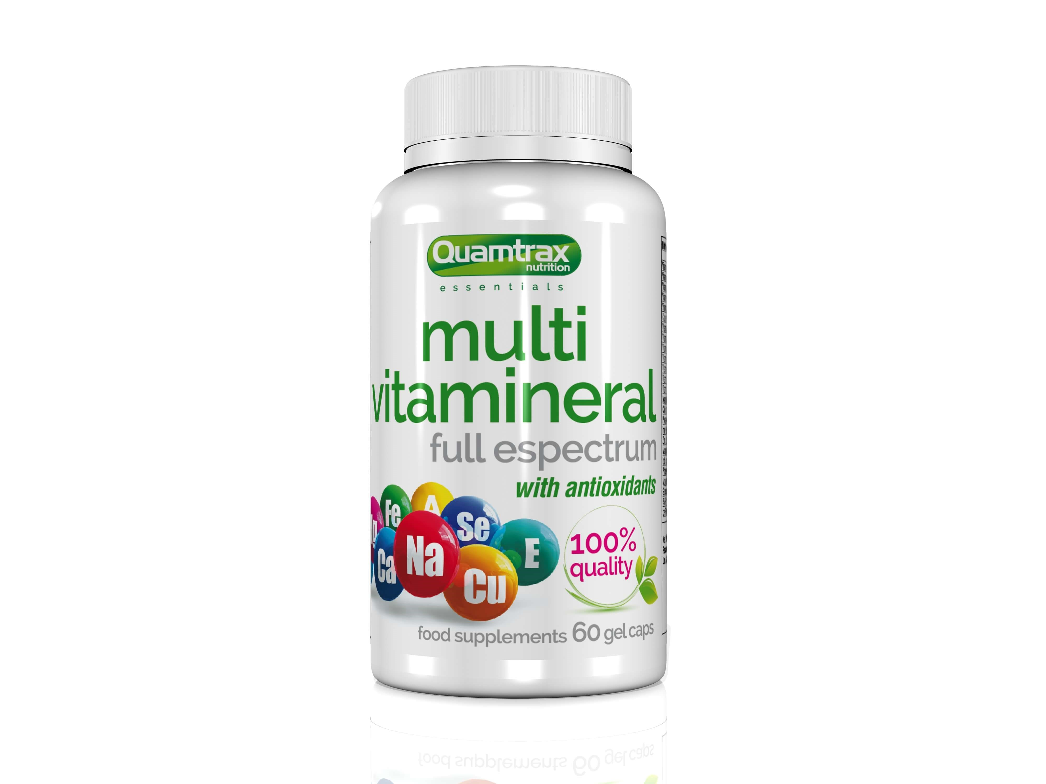 Quamtrax Essentials Multivitamineral 60 capsules