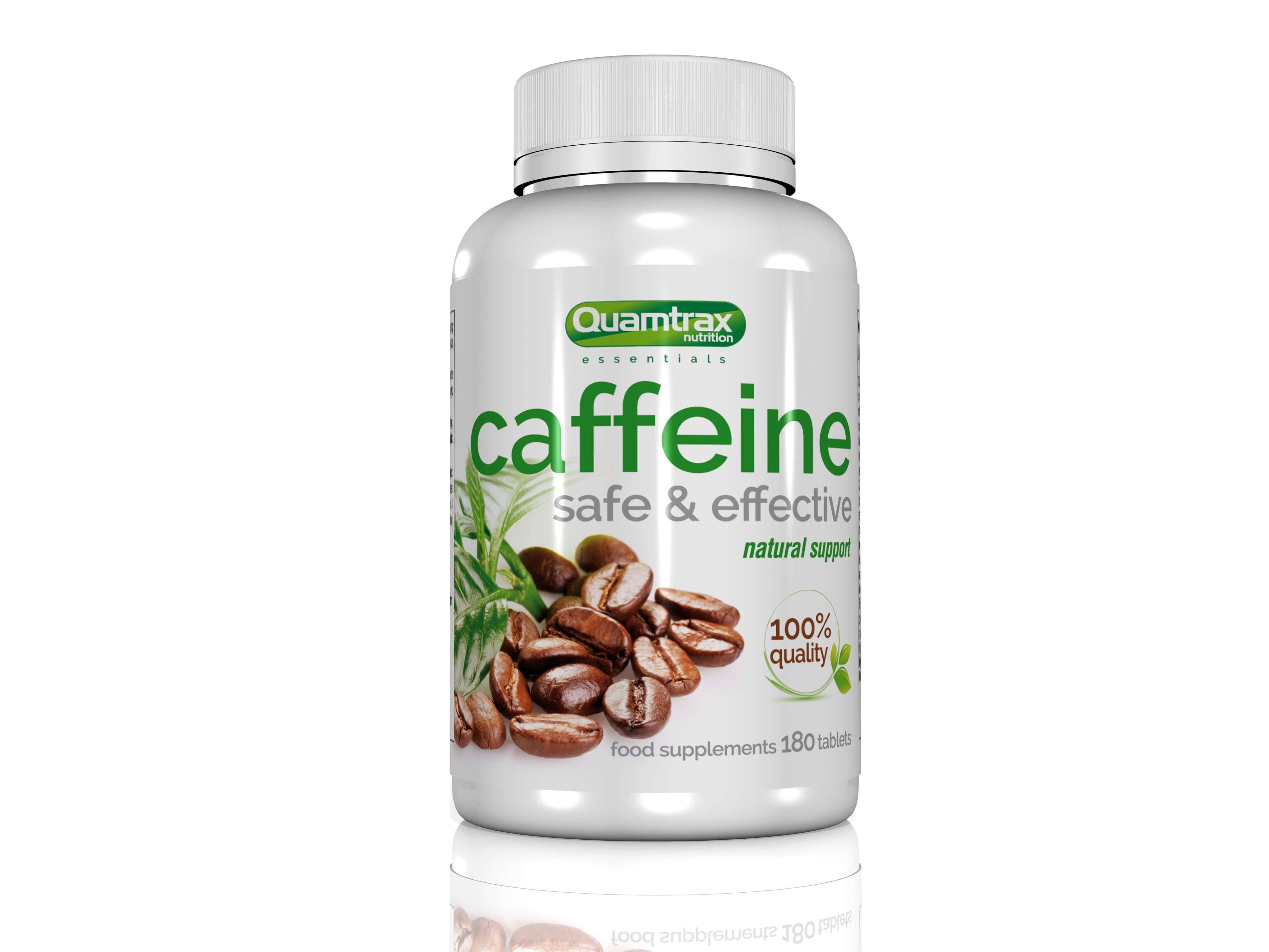 Quamtrax Essentials Caffeine 200mg 180 tablets
