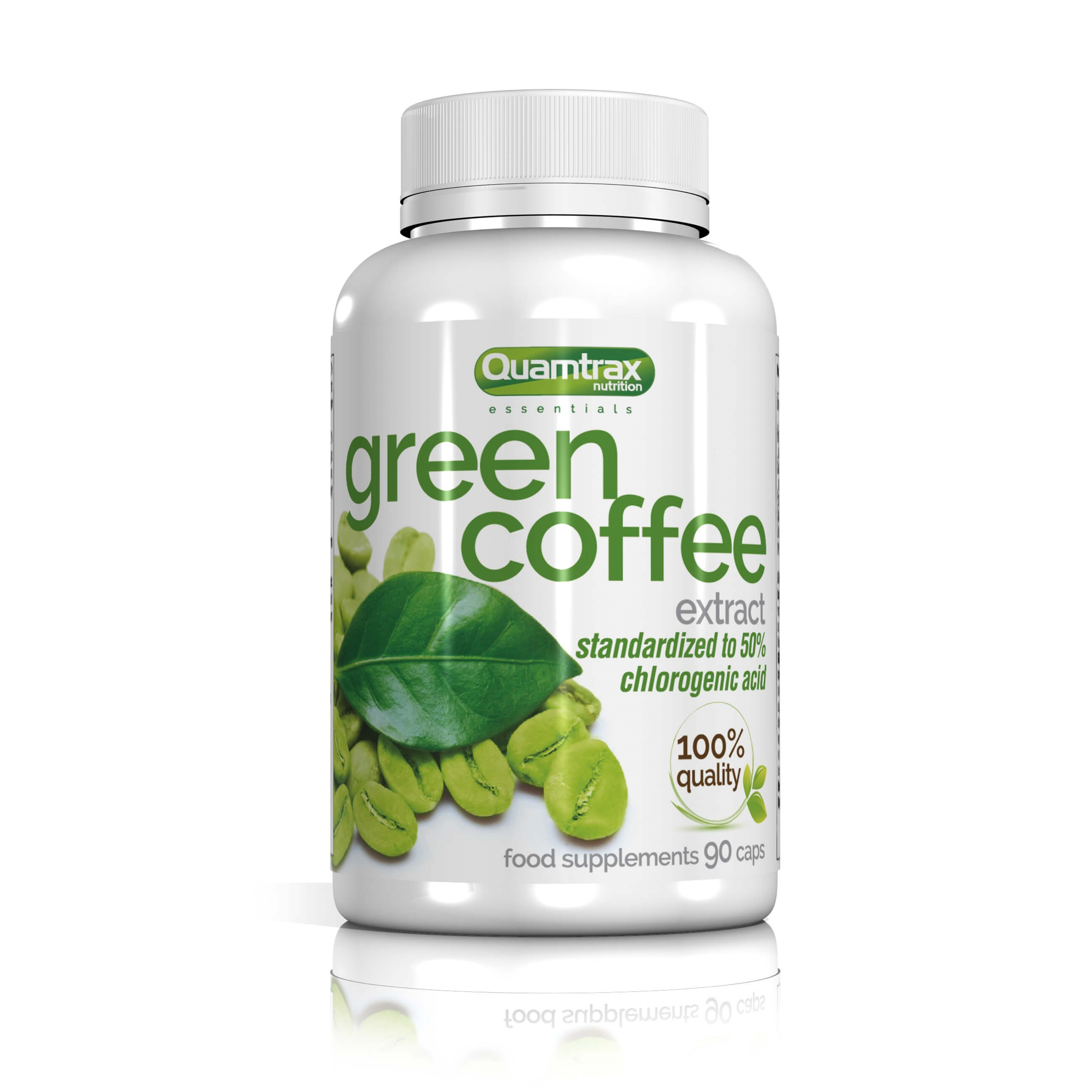 Quamtrax Essentials Green Coffee Extract 90 capsules