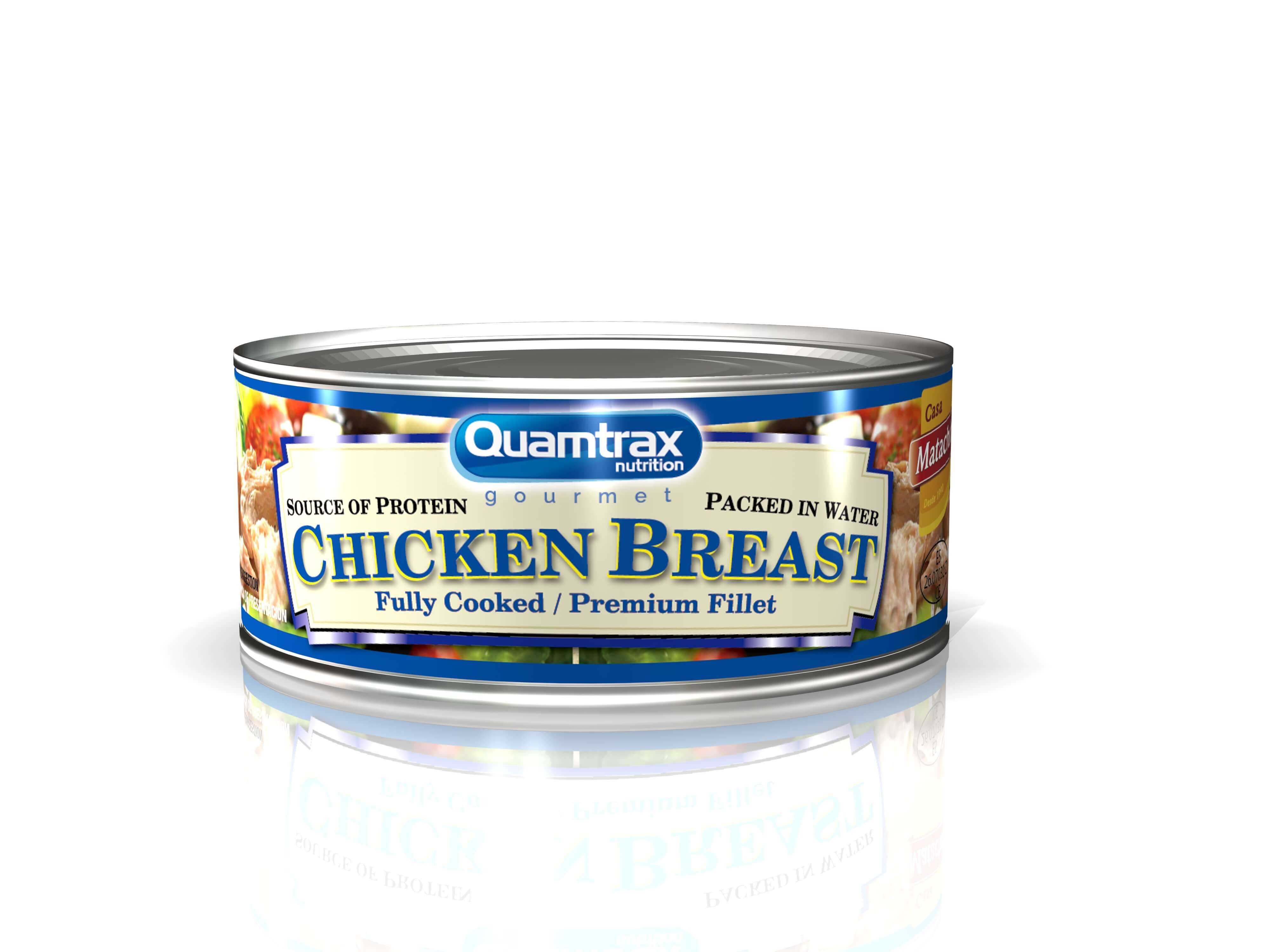 Quamtrax Gourmet Chicken breast 155g