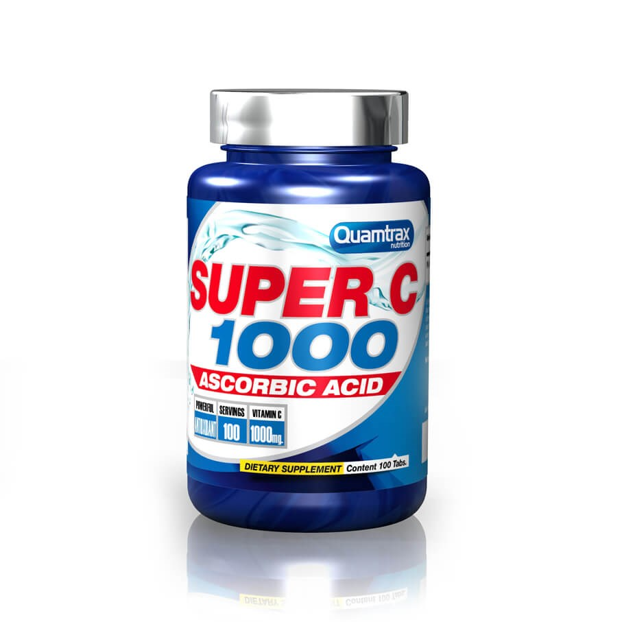 Quamtrax Super C 1000 100 tablets