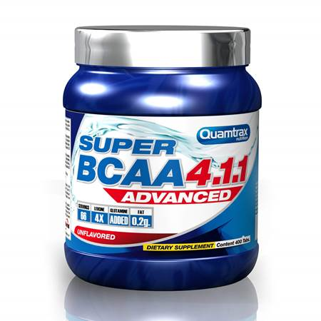 Quamtrax Super BCAA Advanced 4:1:1 400tablets