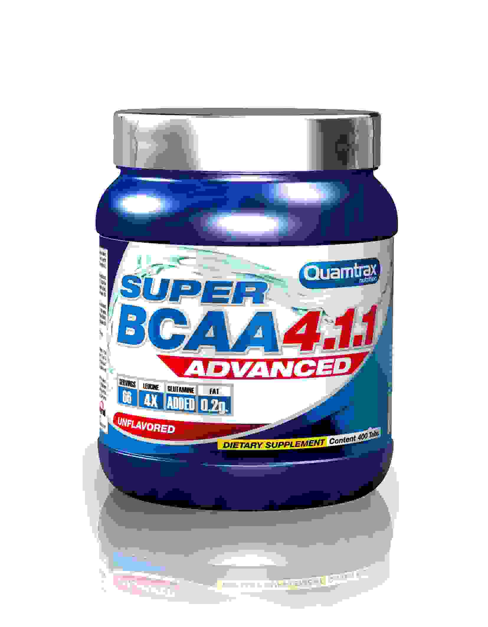 Quamtrax Super BCAA Advanced 4:1:1 200tablets
