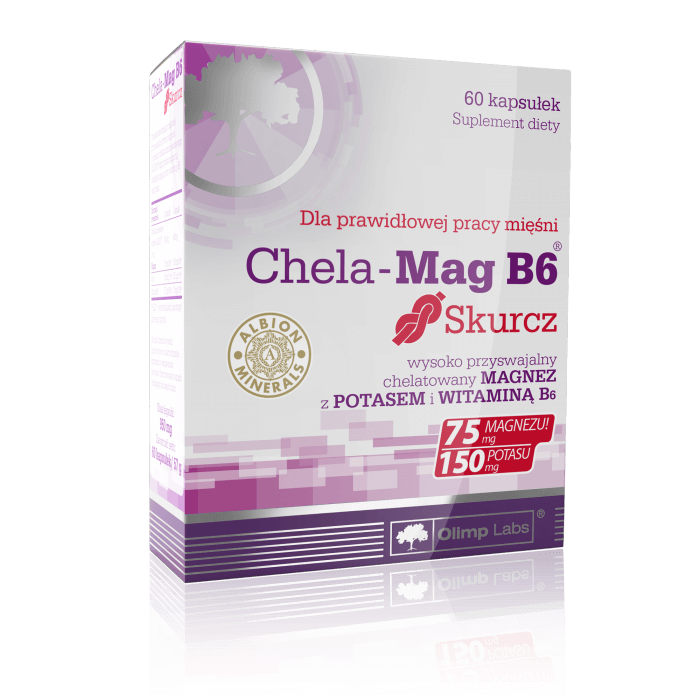 Olimp Chela-Mag B6 contraction 60 capsules