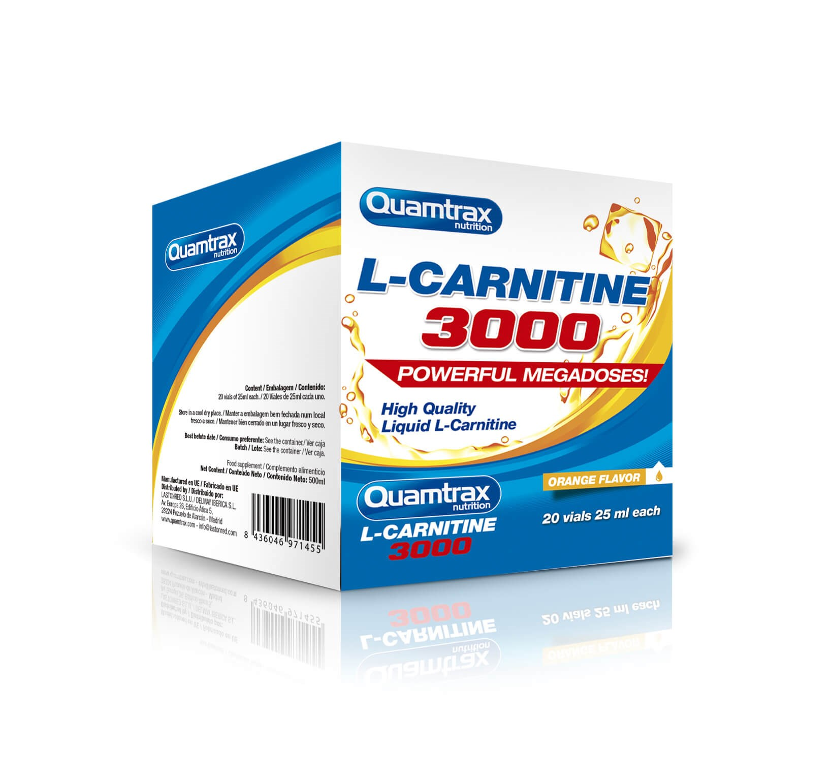 Quamtrax L-carnitine 3000 20 vial