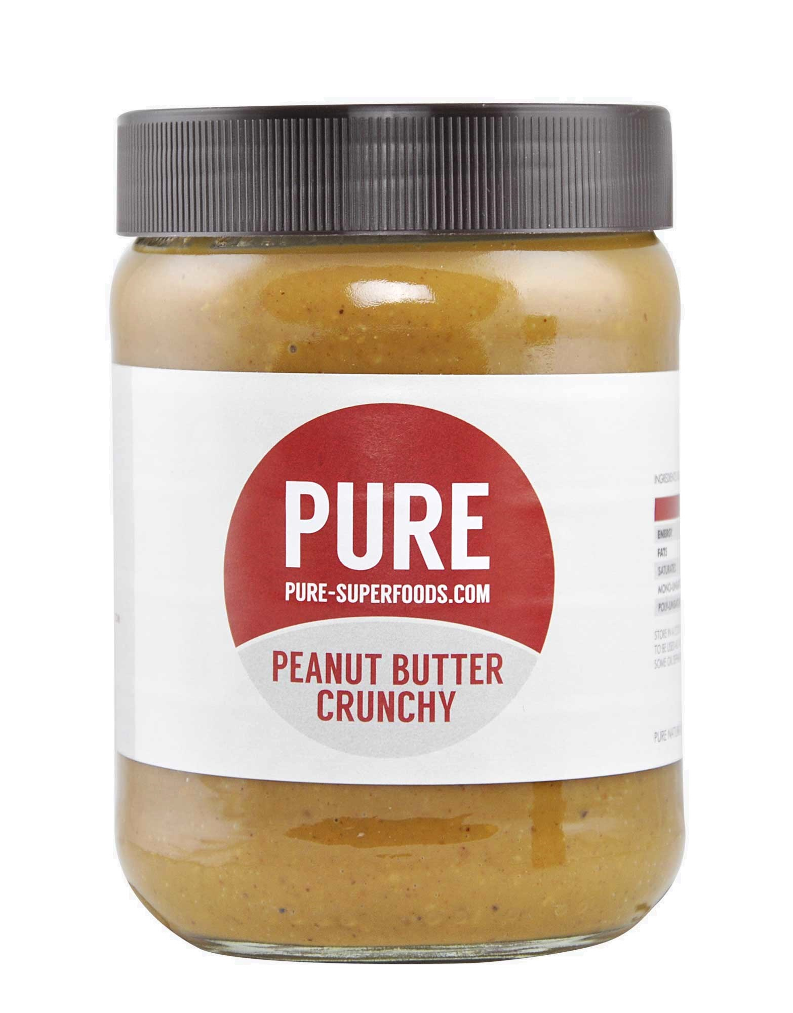 Pure Superfoods Peanut Butter 500g