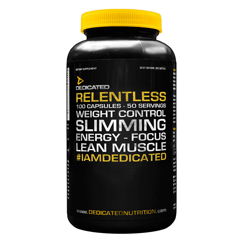Dedicated Relentless 100 capsules
